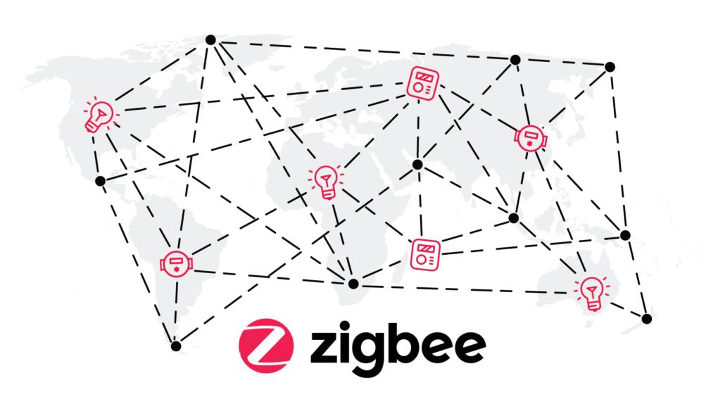 ZigBee Mesh. Source: ZigBee Alliance