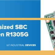 New Raspberry Pi-sized SBC powered with Ryzen R1305G